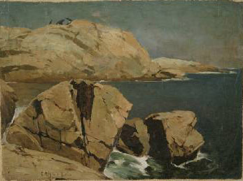 Emil Carlsen Bald Head Cliff, York, Maine, c.1914