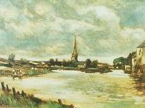 Emil Carlsen : Landscape, ca.1871.