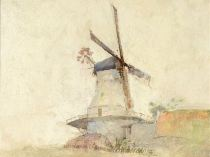 Emil Carlsen Windmill, 1929
