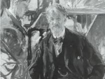 Emil Carlsen Self-Portrait with Son (Dines), c.1930