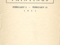 "1911 The Macbeth Galleries, 450 Fifth Avenue, New York, NY, ""A Group of Thirty Selected Paintings"", February 2-15"