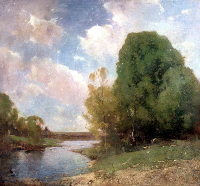 Emil Carlsen Streamside, 1905
