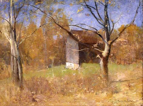 Emil Carlsen Behind the Artist's Studio, c.1925