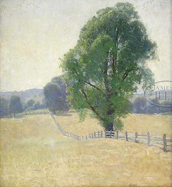Emil Carlsen Fence Line, c.1925