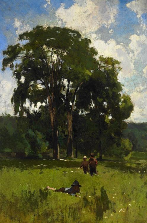 Emil Carlsen May Morning, 1880