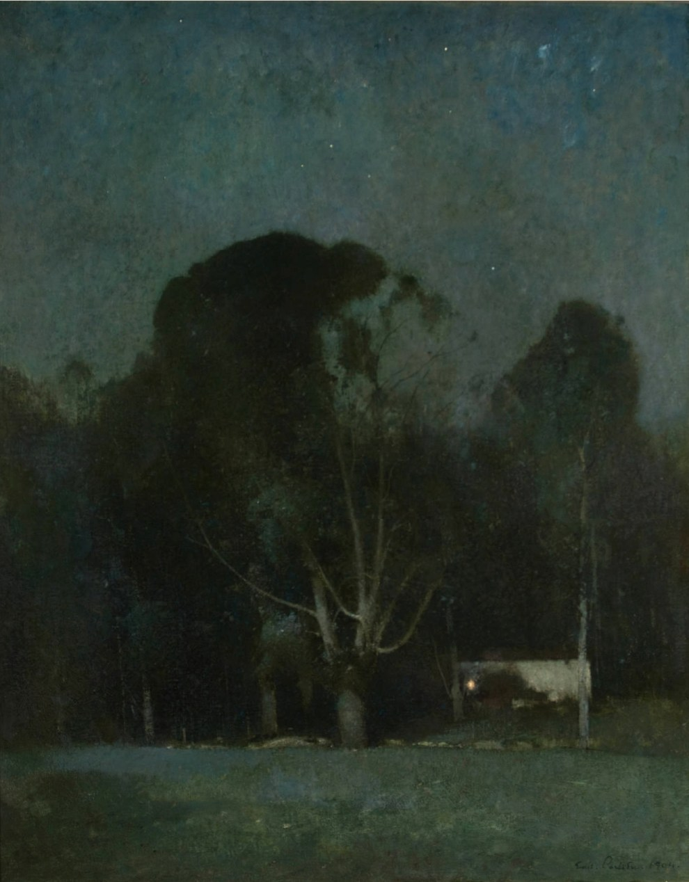 Emil Carlsen : Night, Old Windham, 1904.