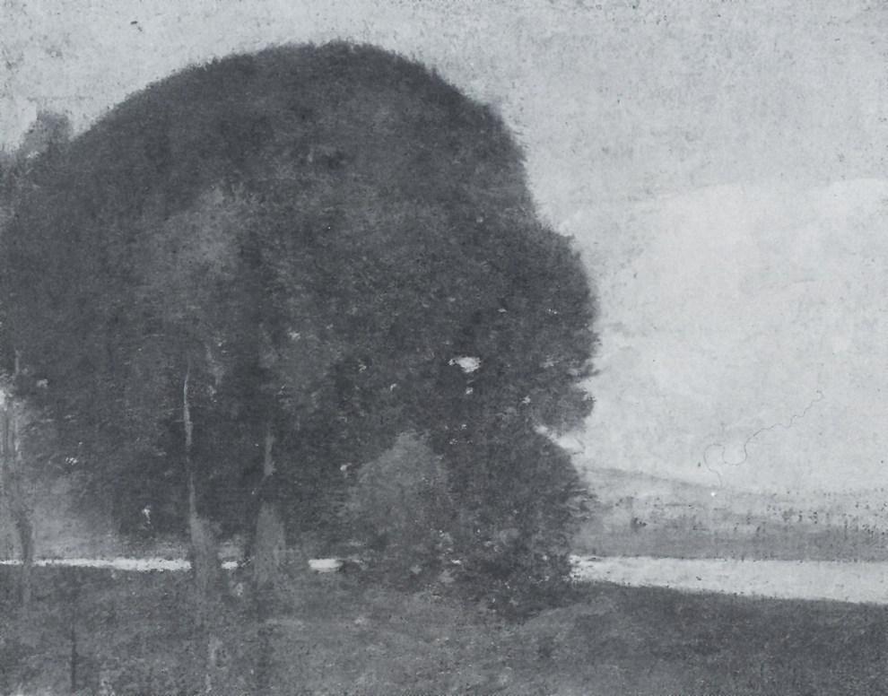 Emil Carlsen Riverside Grove, c.1903