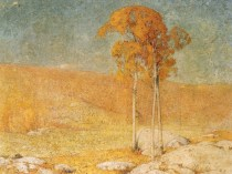 Emil Carlsen October Summer (aka: A Connecticut Hill Top, Connecticut Hill-Top, Connecticut Hilltop), 1904