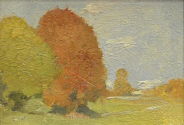 Emil Carlsen Landscape with Blue Sky, c.1910