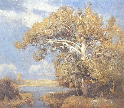 Emil Carlsen : Weir's tree, ca.1905.