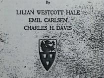 "1923 The Art Club of Philadelphia, Philadelphia, PA, ""Exhibition of Oil Paintings by Lilian Westcott Hale, Emil Carlsen, Charles H. Davis"", February 24 - March 18"