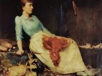 Emil Carlsen Mrs. Carlsen Plucking Fowl, 1893
