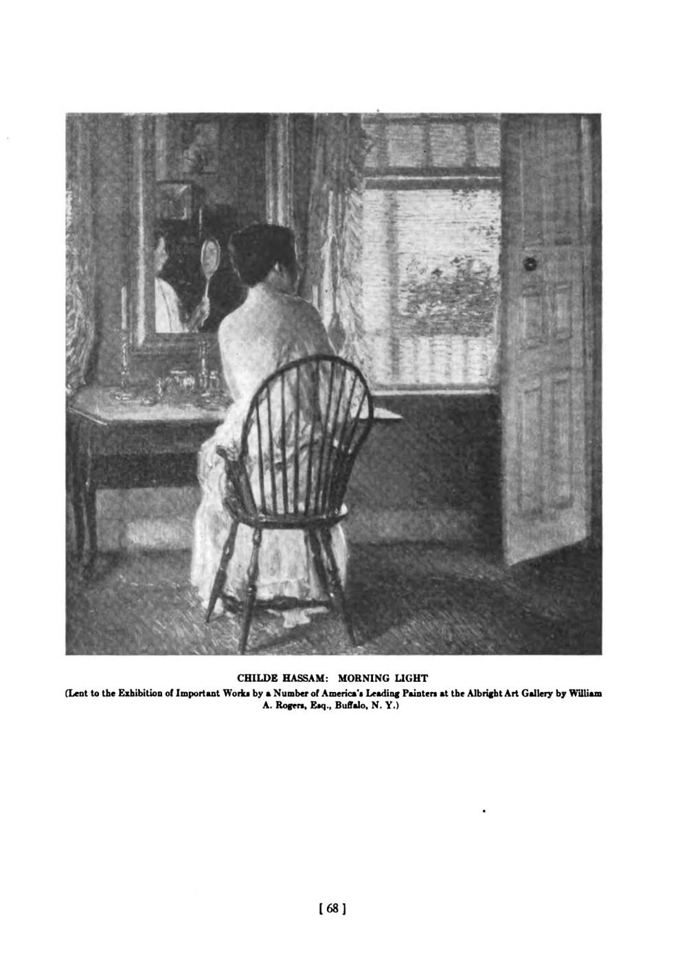 """The Buffalo Fine Arts Academy, Albright Art Gallery, Buffalo, NY, """"Academy Notes"""", July-December, 1920"""