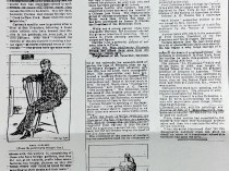 "San Francisco Examiner, San Francisco, CA, ""Flying From Philistines"", September 27, 1891, page 13, column 1-3"