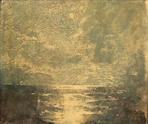 Emil Carlsen Moonlight Water Study, c.1909