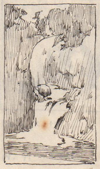 Emil Carlsen Campbell Falls, 1928