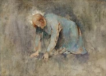 Emil Carlsen Study for O Ye of Little Faith (No.1), c.1913