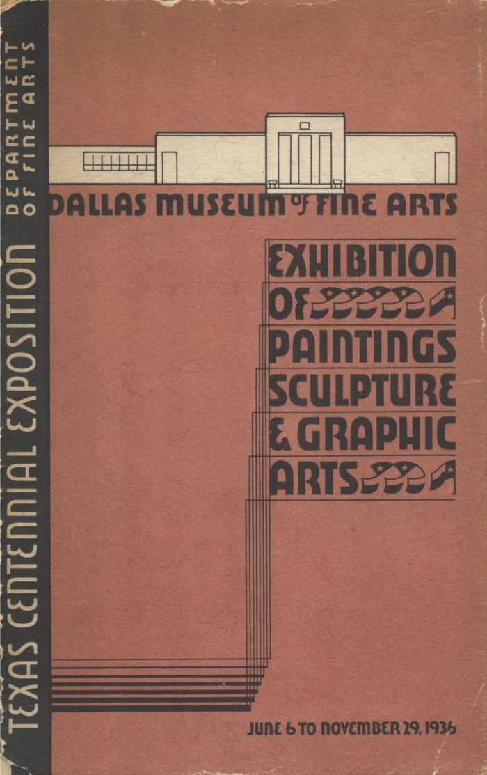 "1936 Dallas Museum of Art, Dallas, TX, ""The Centennial Exhibition of Paintings, Sculpture, and Graphic Arts"", June 6 – November 29"