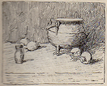 Emil Carlsen The Black Pot, 1928