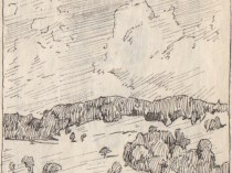 Emil Carlsen : Connecticut hillside, ca.1925.