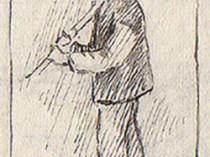 Emil Carlsen Study of Martin Hansen, Skagen, 1908
