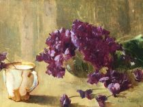 Emil Carlsen : Violets, ca.1897.