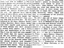 """Coshocton Daily Times, Coshocton, OH, """"The Great Painters of the Sea Are In America"""", April 3, 1911, Page 2"""