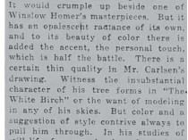 "New York Tribune, New York, NY, ""At the Ferargil Gallery..."", November 16, 1919, Section 3-3"