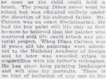 "Pittsburgh Daily Post, Pittsburgh, PA, ""Pamela Bianca and Her Adopted Ancestors"", April 10, 1921, Page 46"