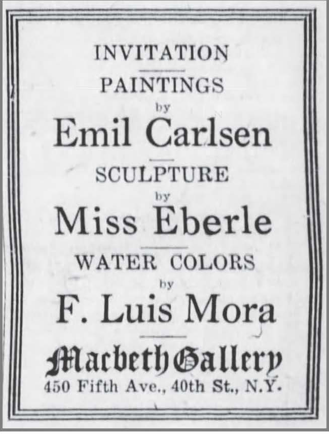 "The Brooklyn Daily Eagle, Brooklyn, NY, ""Ad for Macbeth Show"", February 12, 1921, Page 3"
