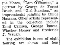 "Nevada State Journal, Reno, NV, ""Gallery Plans Exhibit"", December 14, 1964, Page 14"