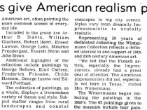 "The Baytown Sun, Baytown, TX, ""Wintermanns give American realism paintings"", September 19, 1985, Page 10"