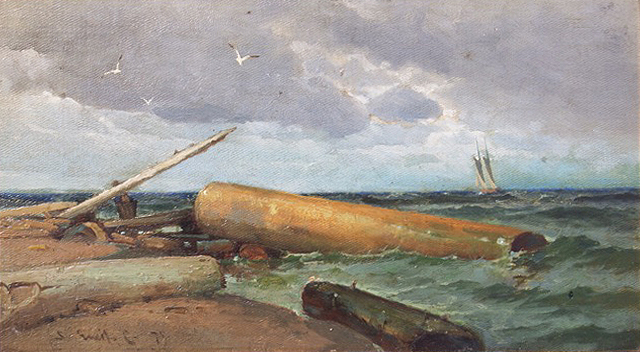 Emil Carlsen : On the Atlantic, 1875.