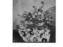 """Art & Life, New York, NY, """"Modern Flower-Painting"""" by Ida J. Burgess, January, 1920, Volume 11, Number 7, pages 382-386, illustrated: B&W"""