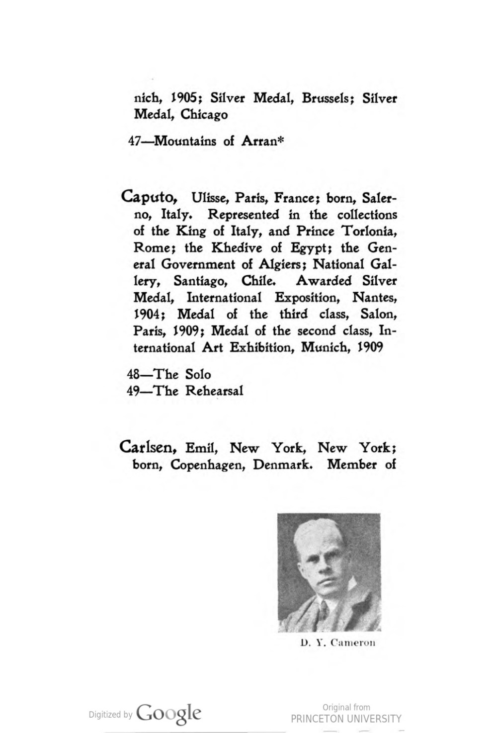 "1913 Carnegie Institute, Pittsburg, PA, ""Seventeenth Annual Exhibition of the Carnegie Institute"", April 24 – June 30"