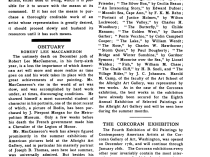 """Academy Notes, Buffalo Fine Arts Academy, Albright Art Gallery, Buffalo, NY, """"This Coming Ninth Annual Exhibition of Selected Paintings by American Arts at the Albright Art Gallery"""", April, 1914, Volume 9, Number 2, page 73, not illustrated"""
