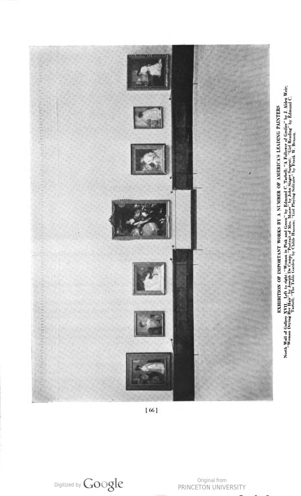 "Academy Notes, Buffalo Fine Arts Academy, Albright Art Gallery, Buffalo, NY, ""Exhibition of Works by the American Painters, Sculptors and Engravers"", July - December, 1920, Volume 15, Number 2, page 63-68, not illustrated"