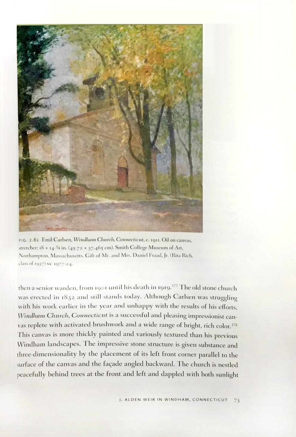 """Rare Light: J. Alden Weir in Windham, Connecticut, 1882-1919"" edited by Anne E. Dawson, Wesleyan, Middletown, CT, 2016"
