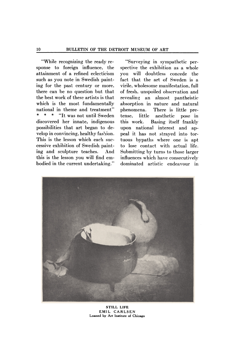 Bulletin of the Detroit Museum of Art, Detroit, MI, May, 1916, Volume 10, Number 9, pages 8-12, illustrated: b&w on page 10