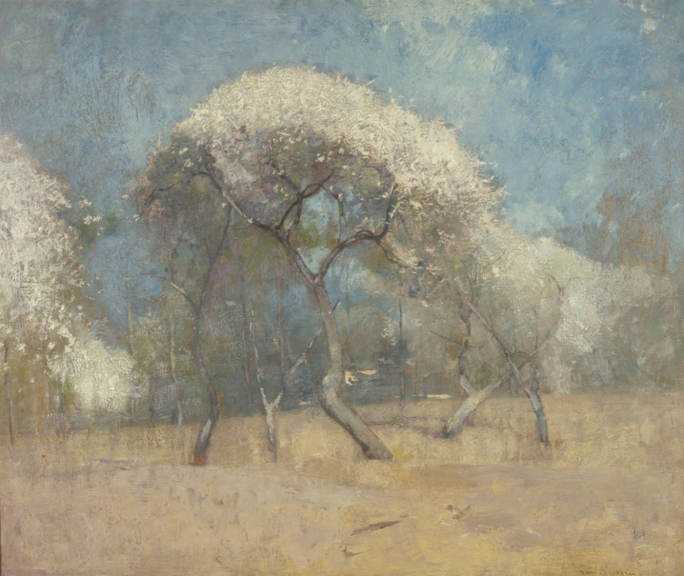 Emil Carlsen Orchard in Bloom, c.1904