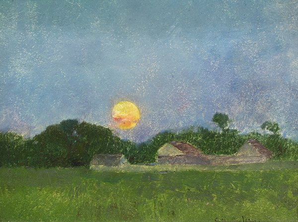 Emil Carlsen Untitled (Moon Rise), ca.1930