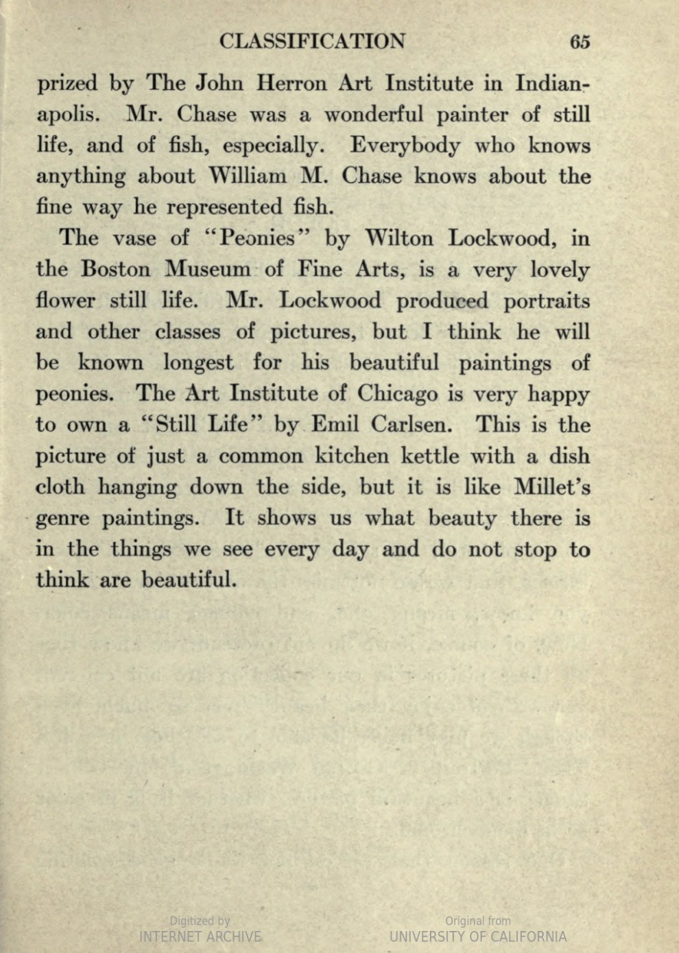 First Steps in the Enjoyment of Pictures by Maude I G Oliver, Henry Holt and Company, New York, 1920