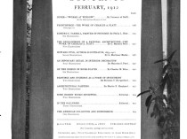 """Arts & Decoration, New York, NY, """"Autographed Palettes"""", Volume 2, Number 4, February, 1912, page 124, not illustrated"""