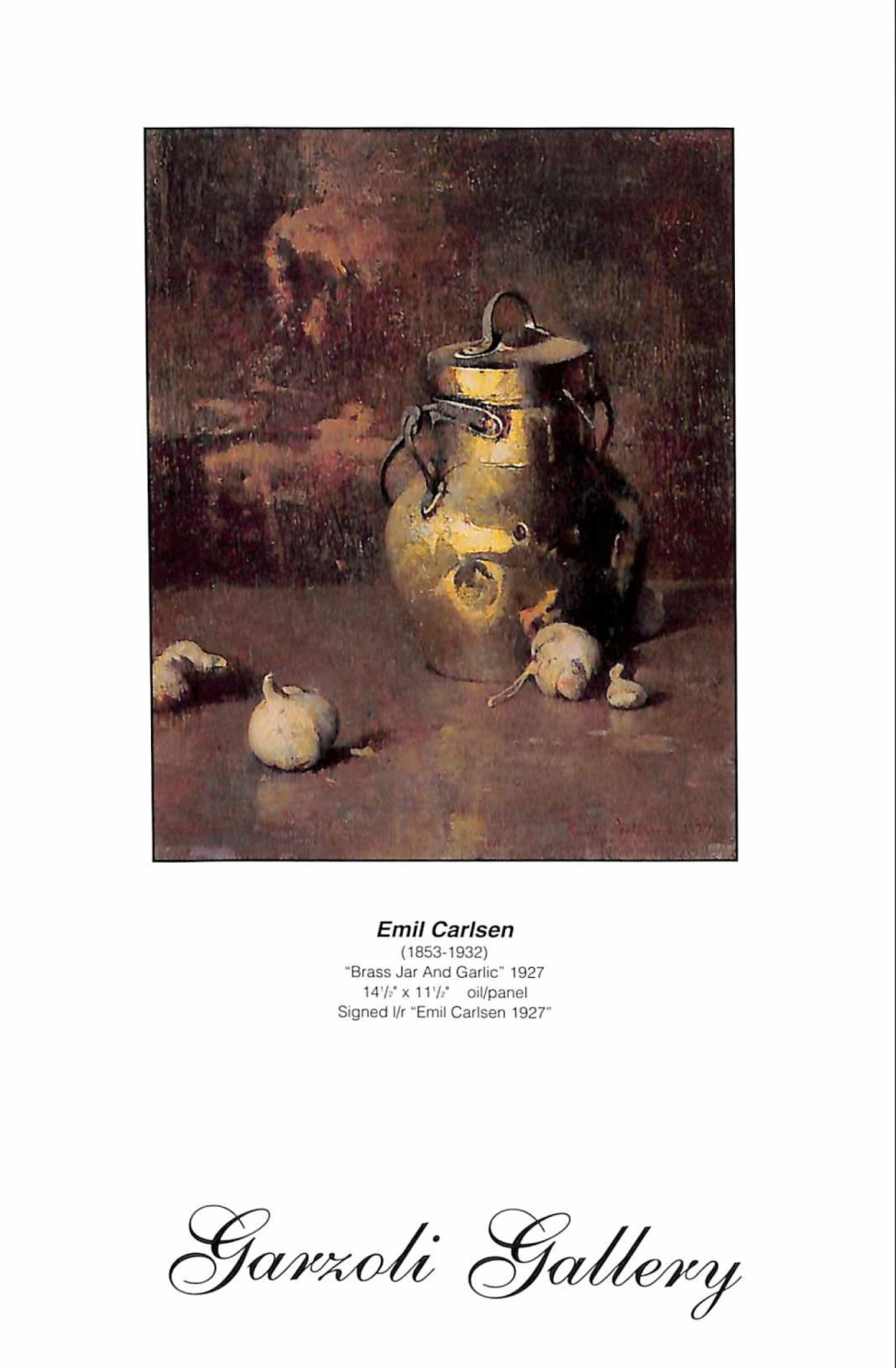 Garzoli Gallery Fine American Paintings