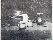"""New York Tribune, New York, NY, """"Still Life"""", January, 11, 1914, unkown page, illustrated: b&w."""