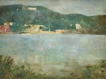 Emil Carlsen : Coastal scene, ca.1906.