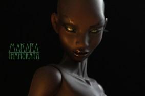 Makara - Nnaji Inamorata 2.0 OOAK Busty Milk art doll bjd haute couture emiliacouture em'lia
