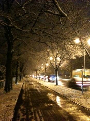 Snowy University boulevard
