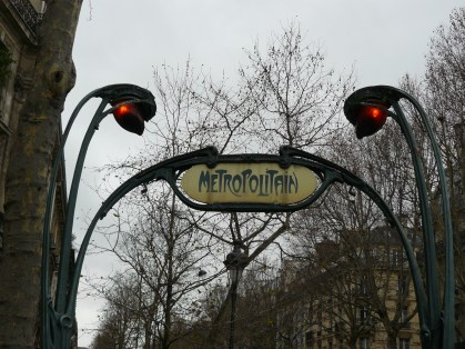 I love the design of the metro signs
