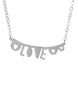 Tatty Devine and Rob Ryan 'A Small Piece of Your Love' necklace